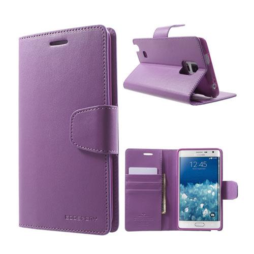 Mercury Samsung Galaxy Note Edge Fodral med Plånbok – Lila