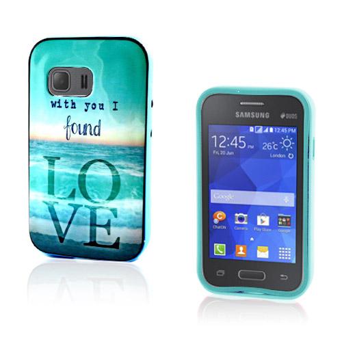 Westergaard Samsung Galaxy Young 2 Skal – Med Dig Hittade Jag Kärlek