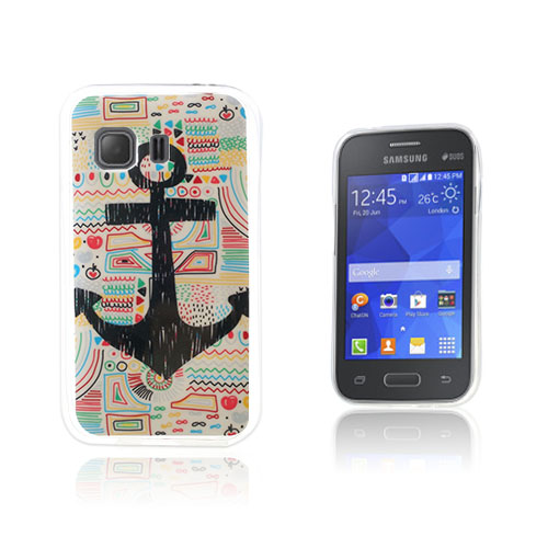 Westergaard Samsung Galaxy Young 2 Skal – Ankare och Cartoon Graffiti