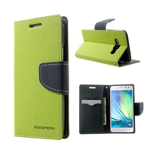 Mercury Samsung Galaxy A3 Flip Fodral – Grön