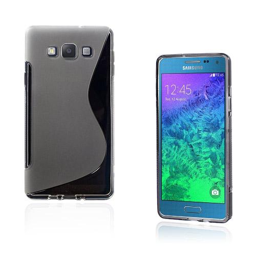 Lagerlöf Samsung Galaxy A7 Skal – Genomskinlig