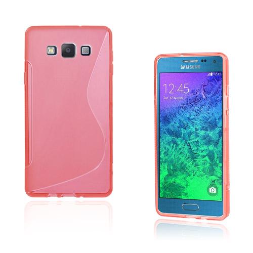 Lagerlöf Samsung Galaxy A7 Skal – Röd