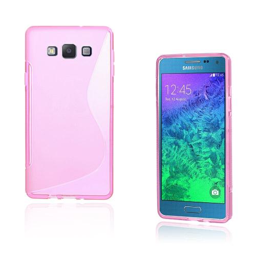 Lagerlöf Samsung Galaxy A7 Skal – Het Rosa