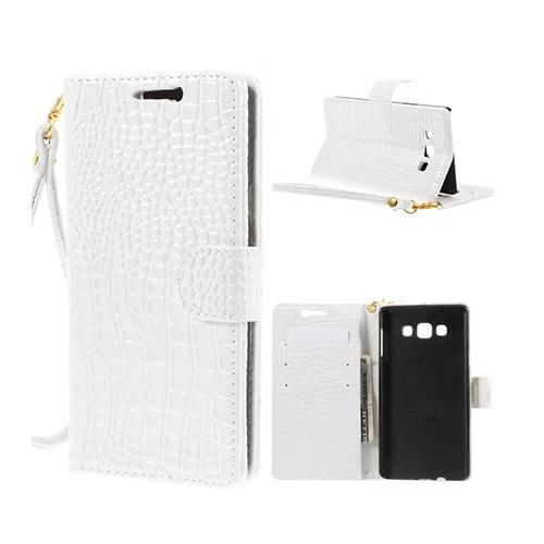 Marx (Vit) Samsung Galaxy A7 Fodral med Plånbok