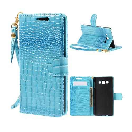Marx (Blå) Samsung Galaxy A7 Fodral med Plånbok
