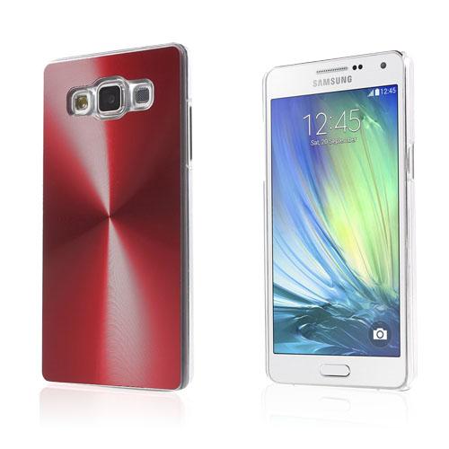 Grooves Samsung Galaxy A5 Hårt Skal – Röd