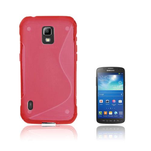 Lagerlöf (Röd) Samsung Galaxy S5 Active Skal
