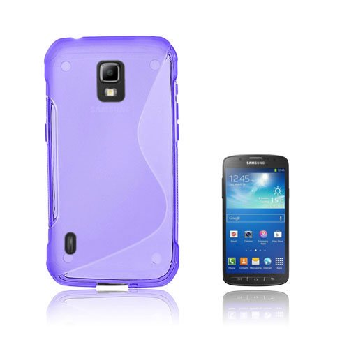 Lagerlöf (Lila) Samsung Galaxy S5 Active Skal