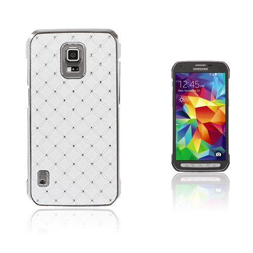 Strass Stjärnhimmel Samsung Galaxy S5 Active Skal – Vit