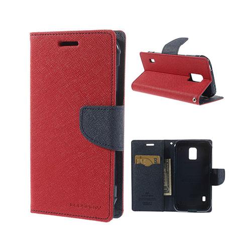 Mercury (Röd) Samsung Galaxy S5 Active Fodral med Korthållare