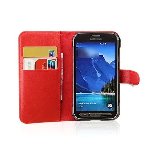 Jensen Samsung Galaxy S5 Active Fodral – Röd