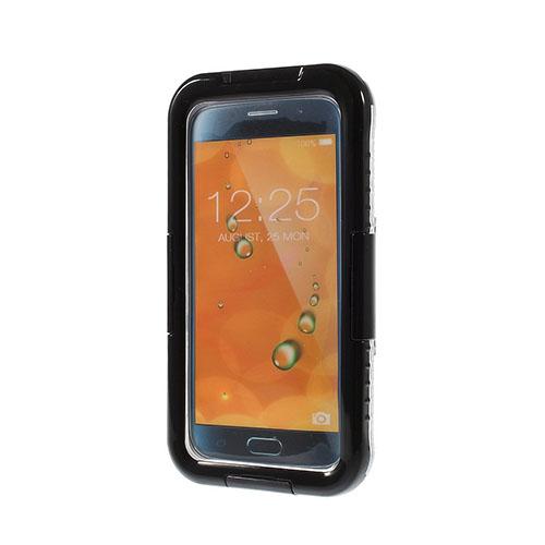 Vattentät (Svart) Samsung Galaxy S6 Edge Fodral