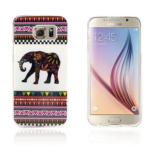 Westergaard Samsung Galaxy S6 Edge Skal – Maya Stil Elefant