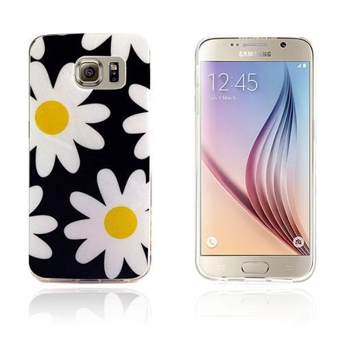 Westergaard Samsung Galaxy S6 Edge Skal – Vita blommamor