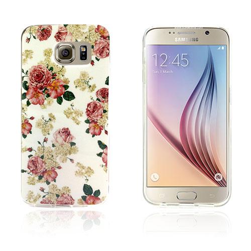 Westergaard Samsung Galaxy S6 Edge Skal – Färska blommamor