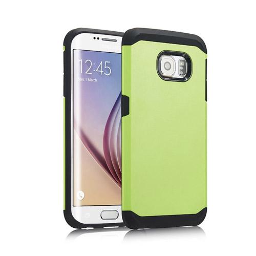 Dahl Samsung Galaxy S6 Edge Skal – Grön