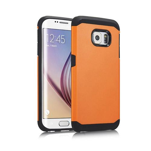 Dahl Samsung Galaxy S6 Edge Skal – Orange