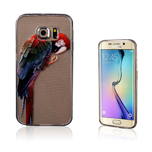 Westergaard Samsung Galaxy S6 Edge TPU Skal – Papegoja