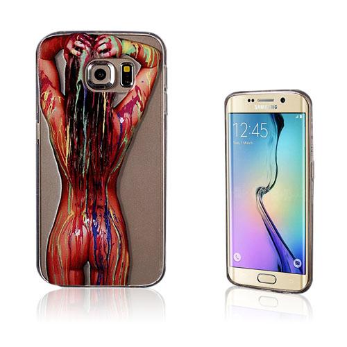 Westergaard Samsung Galaxy S6 Edge TPU Skal – Kroppsfärg