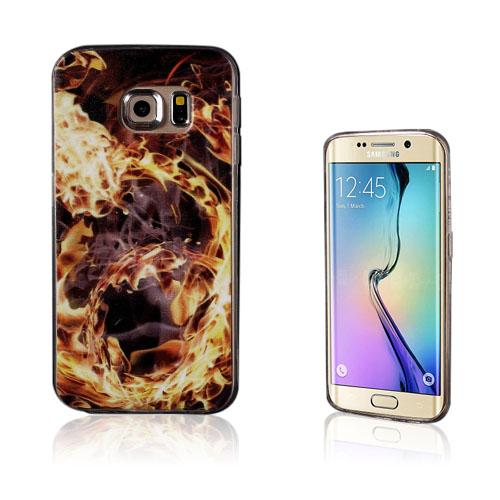 Westergaard Samsung Galaxy S6 Edge TPU Skal – Flamma