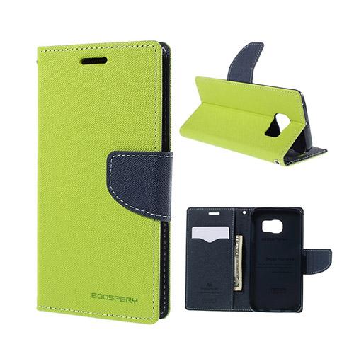 Mercury Samsung Galaxy S6 Edge Stativ Fodral – Grön