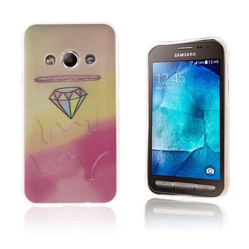 Westergaard Samsung Galaxy Xcover 3 Skal – Rosa Diamant