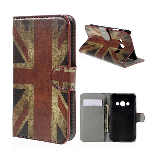 Moberg Samsung Galaxy Xcover 3 Fodral & Plånbok – UK Flagga