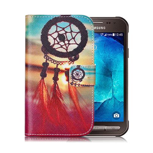 Moberg Samsung Galaxy Xcover 3 Läderfodral med Plånbok – Drömfångare