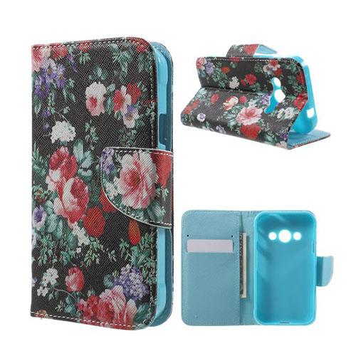 Moberg Flip Samsung Galaxy XSkal 3 Fodral – Blomning Blommor