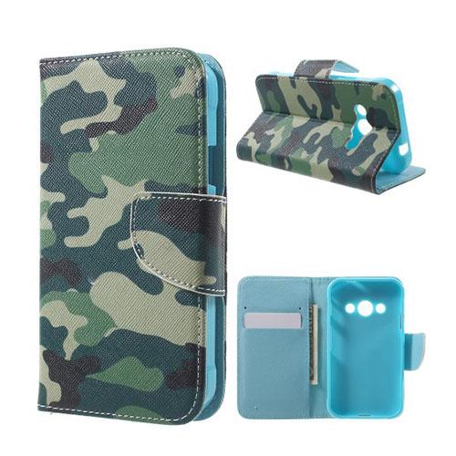 Moberg Flip Samsung Galaxy XSkal 3 Fodral – Kamouflage