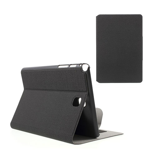 Praque (Svart) Samsung Galaxy Tab A 8.0 Fodral med Plånbok