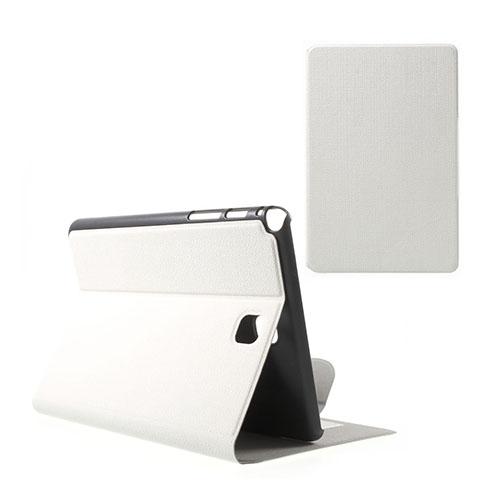 Praque (Vit) Samsung Galaxy Tab A 8.0 Fodral med Plånbok