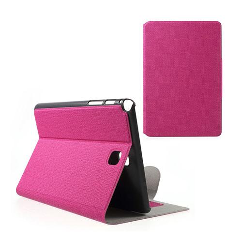 Praque (Het Rosa) Samsung Galaxy Tab A 8.0 Fodral med Plånbok