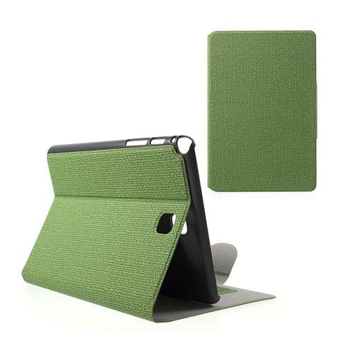 Praque (Grön) Samsung Galaxy Tab A 8.0 Fodral med Plånbok