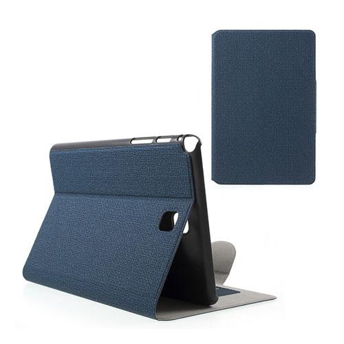 Praque (Mörkblå) Samsung Galaxy Tab A 8.0 Fodral – Plånbok