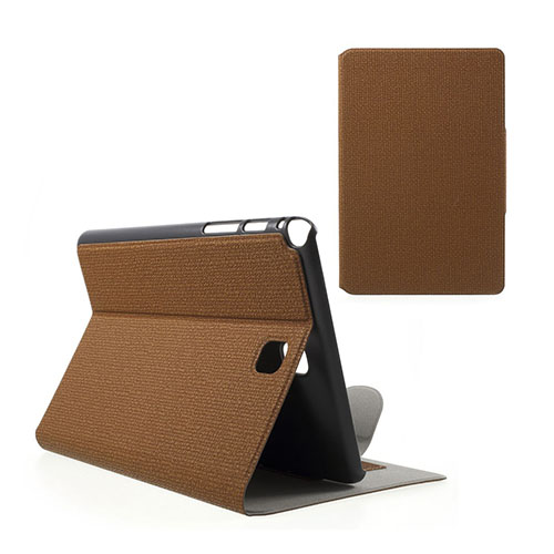 Praque (Brun) Samsung Galaxy Tab A 8.0 Fodral med Plånbok