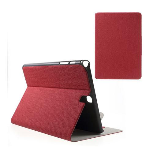 Praque Samsung Galaxy Tab A 9.7 Fodral med Plånbok – Röd