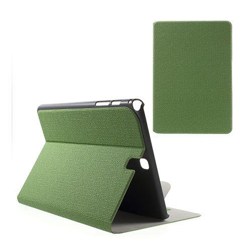 Praque Samsung Galaxy Tab A 9.7 Fodral med Plånbok – Grön