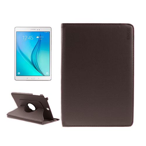 ENKAY Litchi Grain Samsung Galaxy Tab A 9.7 Fodral – Brun