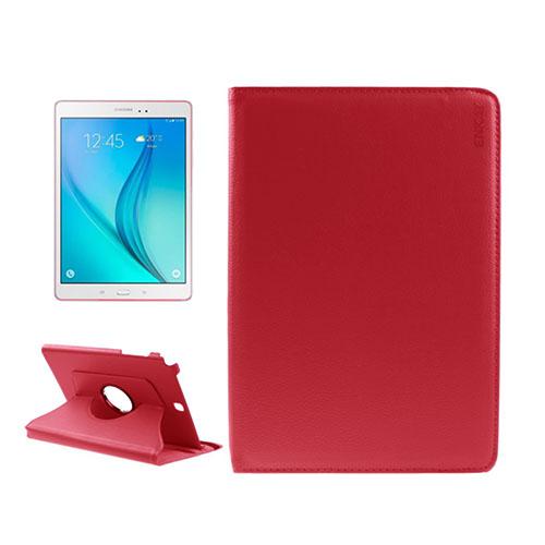 ENKAY Litchi Grain Samsung Galaxy Tab A 9.7 Fodral – Röd