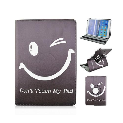 "Moberg Samsung Galaxy A Tab 9.7"" Fodral – Do Not Touch My Pad och Smiley Blinka"