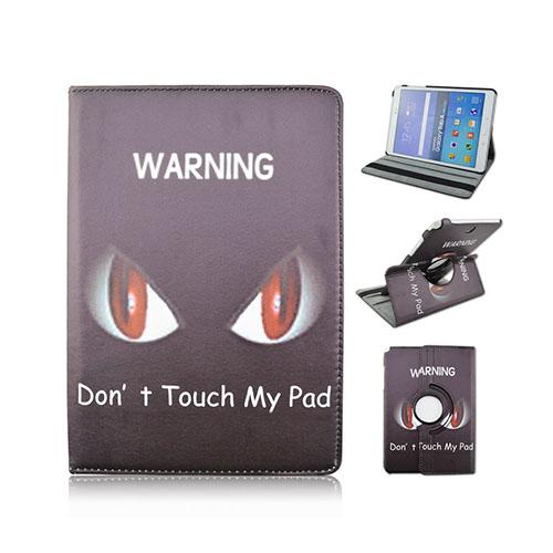 "Moberg Samsung Galaxy A Tab 9.7"" Fodral – Do Not Touch My Pad och Arg Röda Ögon"