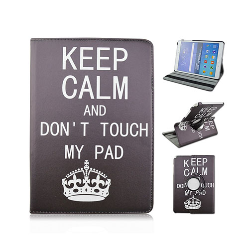 "Moberg Samsung Galaxy A Tab 9.7"" Fodral – Keep Calm and Do Not Touch My Pad (Svart)"