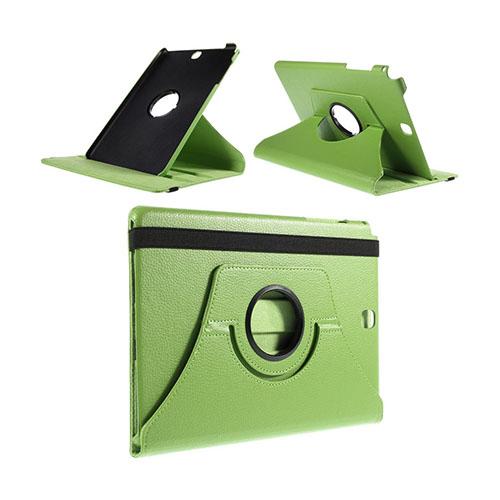 Jessen Samsung Galaxy Tab A 9.7 Läderfodral med Roterbart Stativ – Grön