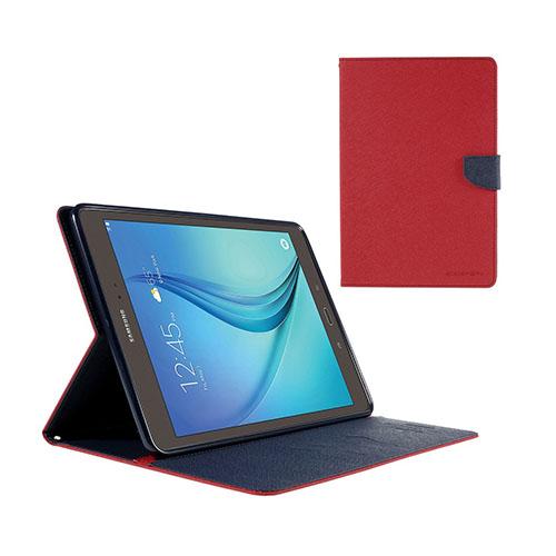 Mercury Samsung Galaxy Tab A 9.7 Läderfodral med Stativ – Röd
