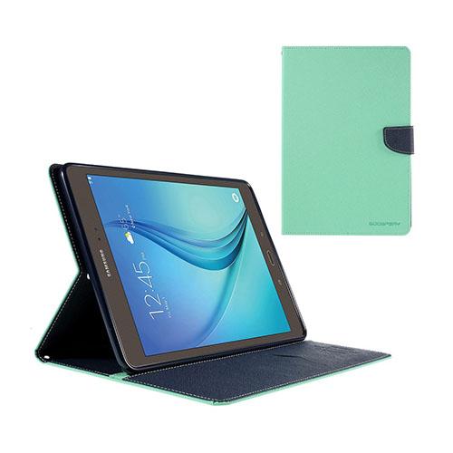 Mercury Samsung Galaxy Tab A 9.7 Läderfodral med Stativ – Cyan