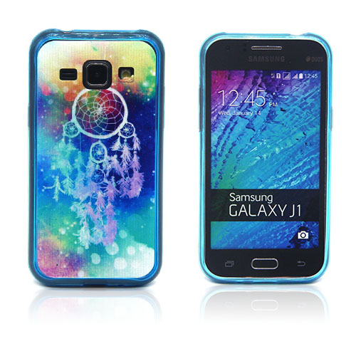 Westergaard Samsung Galaxy J1 Skal – Drömfångare och Galax Mönster
