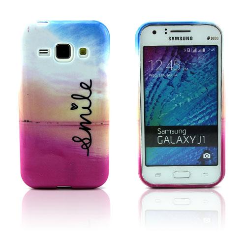 Westergaard Samsung Galaxy J1 Skal – Hjärta Smile och Solnedgång