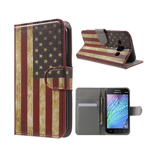 Moberg (Retro USA) Samsung Galaxy J1 Fodral