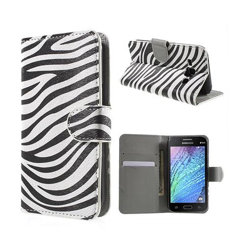 Moberg (Zebra) Samsung Galaxy J1 Fodral